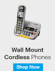 Wall Mount Cordless Phones