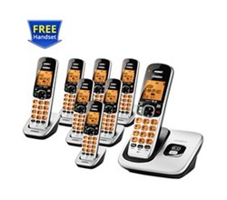 Uniden Six Handsets DECT 6 Cordless Phones uniden d 1760 8