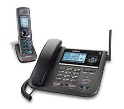 Two Handset Phones uniden dect4096