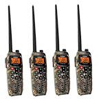 Uniden Atlantis 295-4 Pack Dual Band Marine VHF GMRS Radio