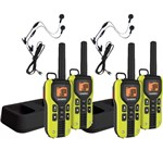 Uniden GMR4060-2CKHS (4-pack) 40-Mile 2-Way FRS/GMRS Radios w/ Headset
