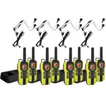 Uniden GMR4060-2CKHS (8-pack) 40-Mile 2-Way FRS/GMRS Radios w/ Headset