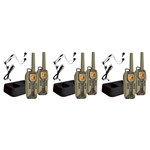 Uniden GMR5088-2CKHS (6-Pack) 50 Mile FRS/GMRS Submersible Two-Way Rad