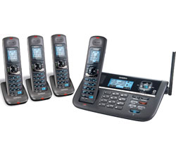Four Handset Phones uniden dect 4086 4