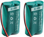 Uniden Battery for Uniden 6010 (2-Pack) BT1011 / BT1018 / BATT-6010 Re