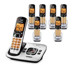 Uniden Six Handsets DECT 6 Cordless Phones uniden d1780 7