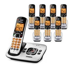 Uniden Six Handsets DECT 6 Cordless Phones uniden d1780 8