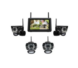 Uniden 4 Camera Video Surveillance Touch Screen Systems uniden udr780hd 4 cameras