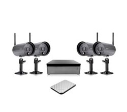 Uniden DVR 4 Camera Systems uniden UNID WDVR4 2 with 1 TB Hard Disk