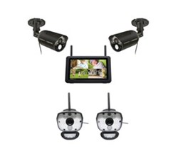 Uniden 4 Camera Video Surveillance Touch Screen Systems uniden udr777hd ulc58