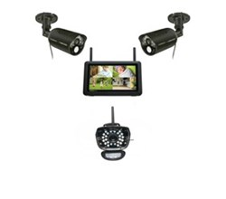 Uniden 3 Camera Video Surveillance Touch Screen Systems uniden udr777hd