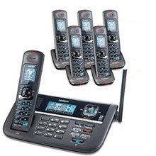 Uniden Six Handsets DECT 6 Cordless Phones uniden dect 4086 6