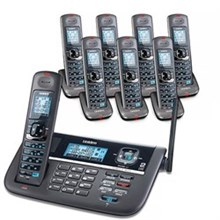 Uniden Six Handsets DECT 6 Cordless Phones uniden dect 4086 8