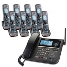 Uniden Six Handsets DECT 6 Cordless Phones uniden dect 4096 8