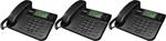 Uniden 3162BK 3 Uniden 2 Line Desktop Corded Phone