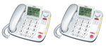 Uniden CEZ260-2 Corded Speakerphone with Call-Waiting Caller ID