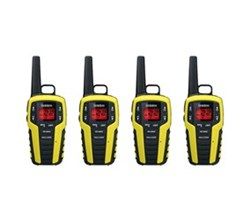 Two Way Radio Four Packs uniden sx329 2ckhs