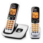 Uniden D1760-2 Cordless Phone includes 2 handsets