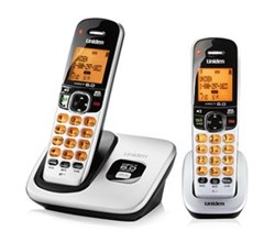 Two Handset Phones uniden d 1760 2