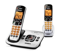 Two Handset Phones uniden d 1780 2