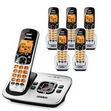 Uniden Six Handsets DECT 6 Cordless Phones uniden d 1780 6