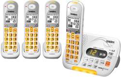 Four Handset Phones uniden d 3097 4