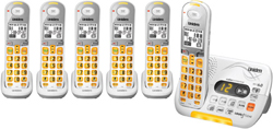 Uniden Six Handsets DECT 6 Cordless Phones uniden d 3097 6