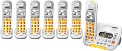 Uniden Six Handsets DECT 6 Cordless Phones uniden d 3097 7