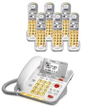 Uniden Six Handsets DECT 6 Cordless Phones uniden d 3098 6