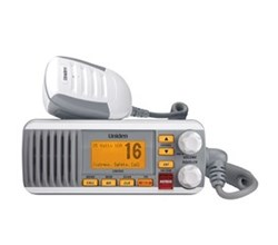 Uniden Waterproof Weather Radios uniden um385 fixed mount vhf radio white