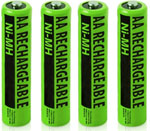 No-Brand Battery for All Brands Telephones NIMH AA (4-Pack) NiMh AA Ba