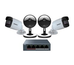 Cloud Based Video Surveillance uniden uc4202 4 cameras