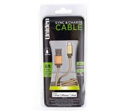 Mobile and Audio Accessories uniden un1196 sync and charge cable gold