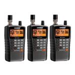 Uniden BC125AT (3-Pack) Bearcat Handheld Scanner