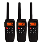 Uniden Atlantis 270 (3-Pack) 2-Way VHF Marine Radio