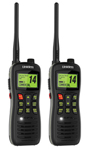 Uniden MHS235 (2-Pack) Two-Way VHF Marine Radio