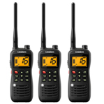 Uniden MHS126 (3-Pack) Two-Way VHF Marine Radio