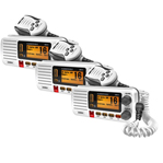 Uniden UM415WH (3-Pack) Fixed Mount VHF Marine Radio