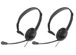 Panasonic KX-TCA400-Uniden-2 Pack Over the Head Headset